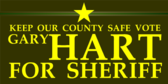 Keep Our County Safe Vote Sheriff