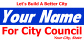 For City Council