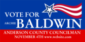 Vote for County Councilman