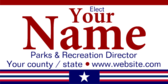 Elect Your Parks and Recreation Director