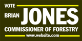 Vote Commissioner Of Forestry