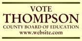 Vote County Board of Education