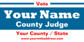 Elect County Judge