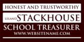 Honest and Trustworthy School Treasurer