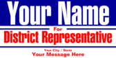 Vote For District Representative
