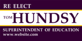 Re Elect Superintendent of Education