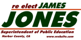 Re-Elect Public Education Superintendent