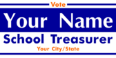 Vote For School Treasurer