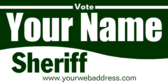 Vote For Sheriff