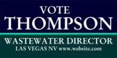 Vote Wastewater Director