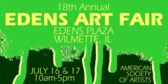 Annual Edens Art Fair