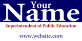 Vote For Your Superintendent of Public Education