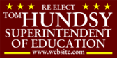 Re Elect Superintendent of Education Info