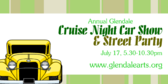 Annual Cruise Night Car Show Street Party