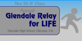 Annual Glendale Relay for Life