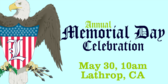 Annual Memorial Day Celebration