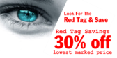 Red Tag Sale Eye