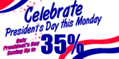 President's Day Discount