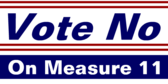 Vote No On Measure Eleven