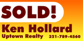 Real Estate Agent SOLD