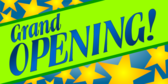 grand opening yard sign template