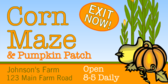 Corn Maze Pumpkin Patch