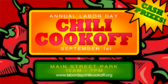 Chili Cookoff Labor Day