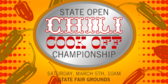 State Open Chili Cook Off