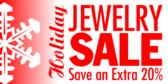 Christmas Jewelry Sale Save an Extra
