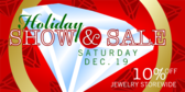 Holiday Show Sale
