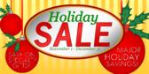 Holiday Sale Major Savings