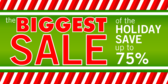 Biggest Sale of Holiday