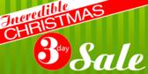 Christmas 3 Day Sale