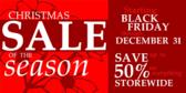 Christmas Sale of Season