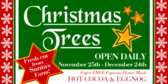 Christmas Tree Lot Sale