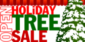 Holiday Tree Sale