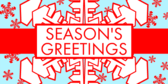 Seasons Greetings Snowflake