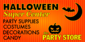 Halloween Party Store