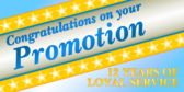 Congratulations Promotion