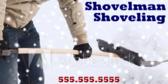 Snowman Plowing