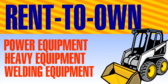 Rent To Own Equipment