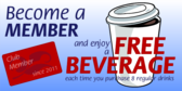Members Earn Free Coffee