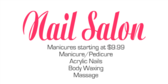 Nail Salon - Services
