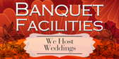 Banquet Facilities Weddings