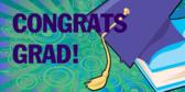 Congrats Grad Welcome Banner