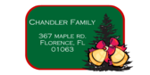 Address Label Christmas