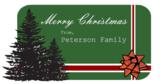 Christmas Label Family