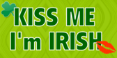 Kiss Me I'm Irish Labels