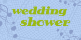 wedding shower Banner