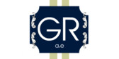 Monogram Label Square Navy